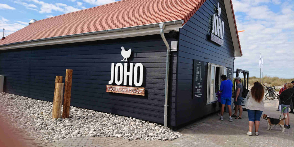Früher Fischkiste – heute Joho's Broiler Bar